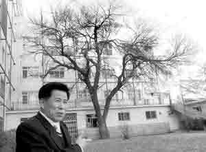 男子20年爱树如痴为树写诗刻碑(图)