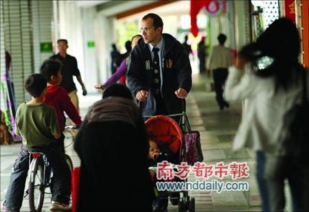 广州一处小区拟引导外国人聚居(图)