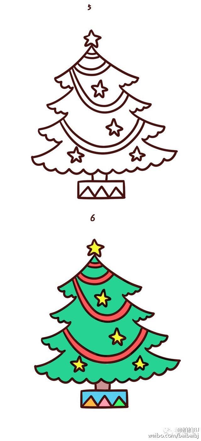 t一项新技能 圣诞主题简笔画学起来
