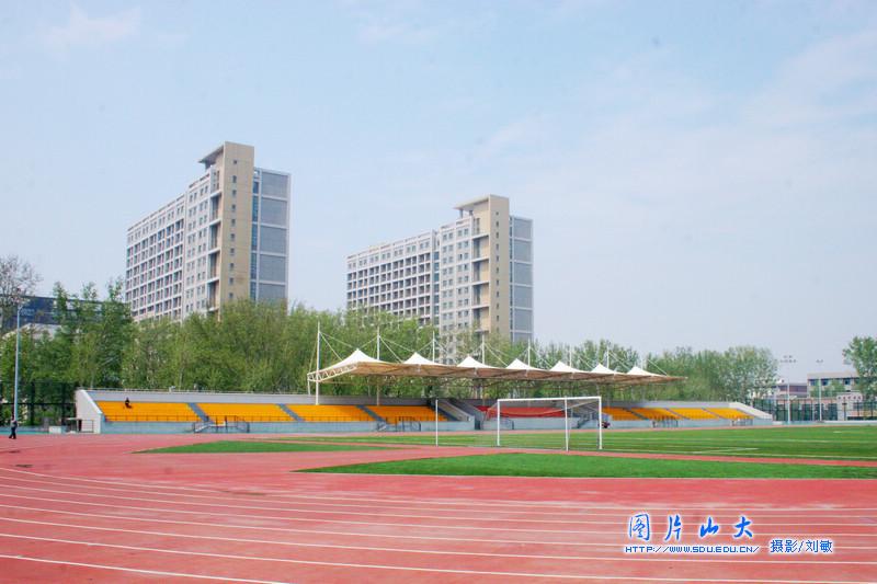 山东大学中心校区美景 科学会堂图片