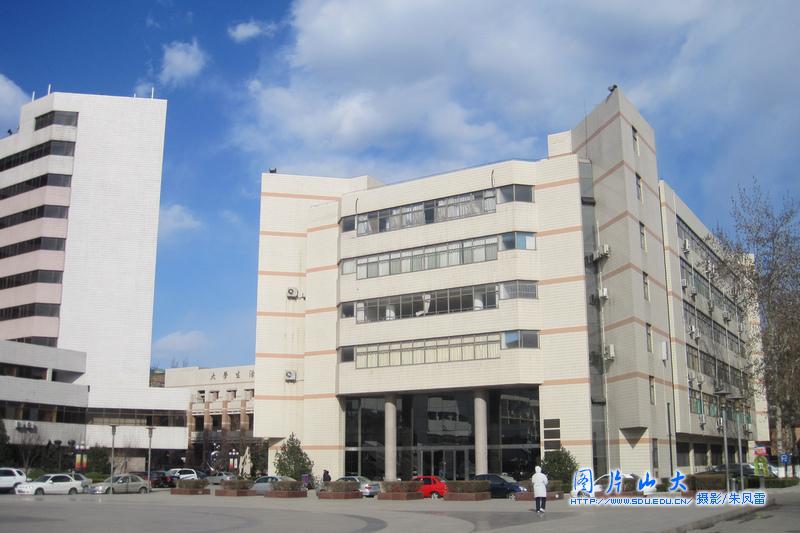 山东大学校园风光 千佛山校区图片