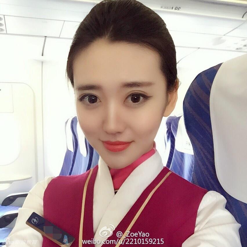 组图 南航空姐性感私照惊艳夺目 高贵冷艳