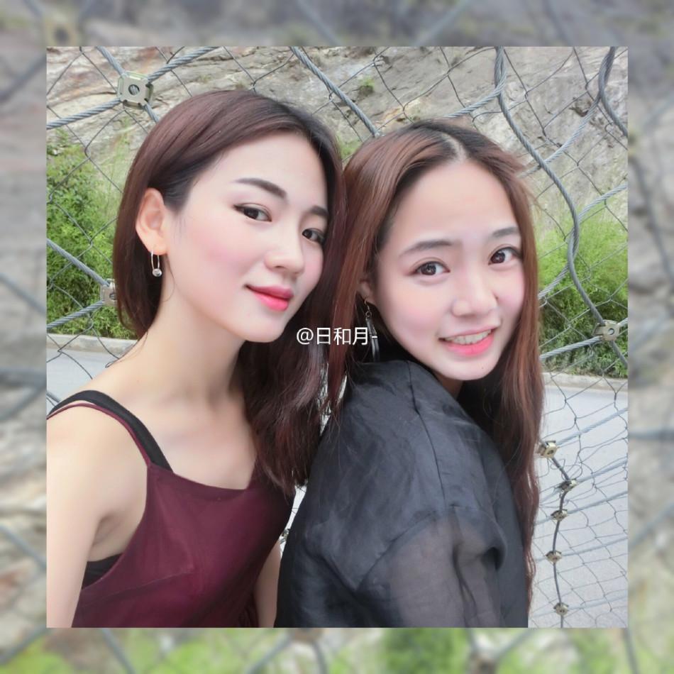 组图 95后校花晒性感写真 撞脸小龙女陈妍希