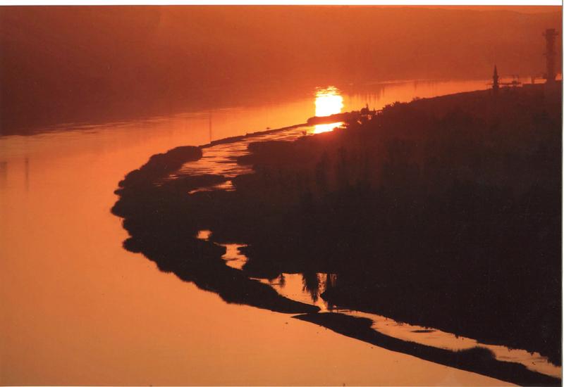 宁夏沙坡头风光高清图片