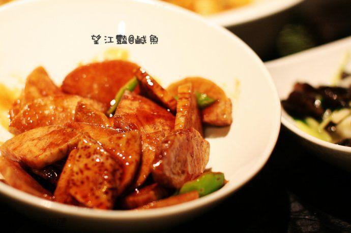 到我和菊姐大力喜欢的一道菜,还是蛮粉的,偏甜,居然有福州菜的