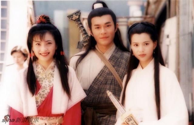 近日,古天乐、李若彤等主演的95版《神雕侠侣》曝光一组罕见片