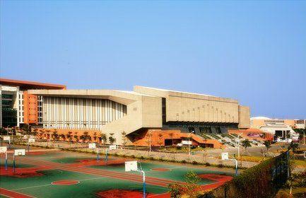 亚运场馆风采 中山大学体育馆