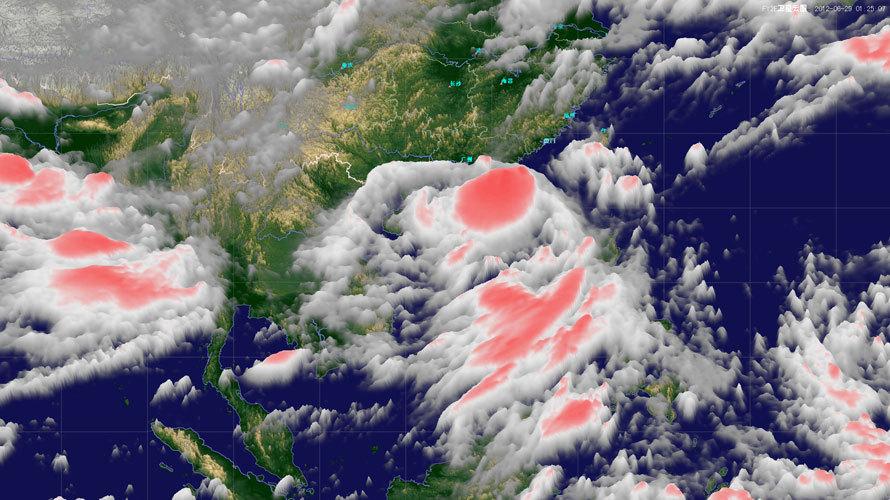 """1时""""杜苏芮""""卫星云图(来源:中国气象局国家卫星气象中心)-杜图片"""