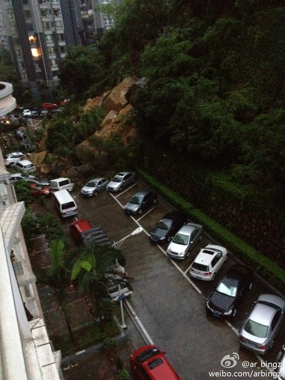 广东多地遭遇暴雨袭击