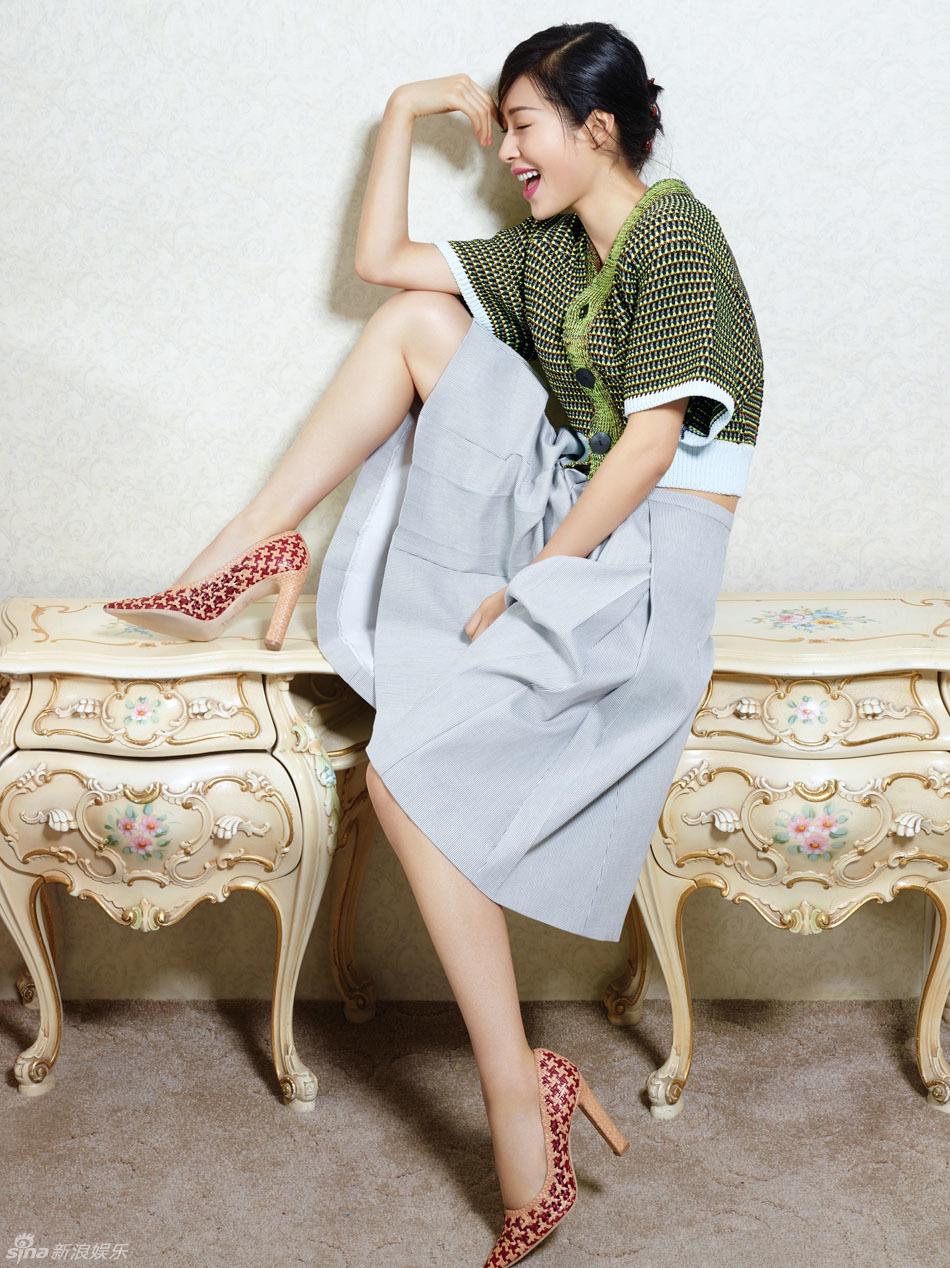 江一燕时尚居家写真