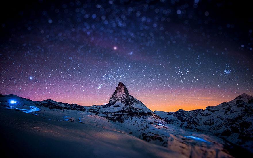 哪些地方的夜景是网友们心中最美的景色.来源:中新网-全球最美夜图片