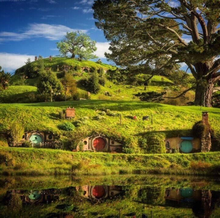 走进玛塔玛塔 霍比特人的村庄