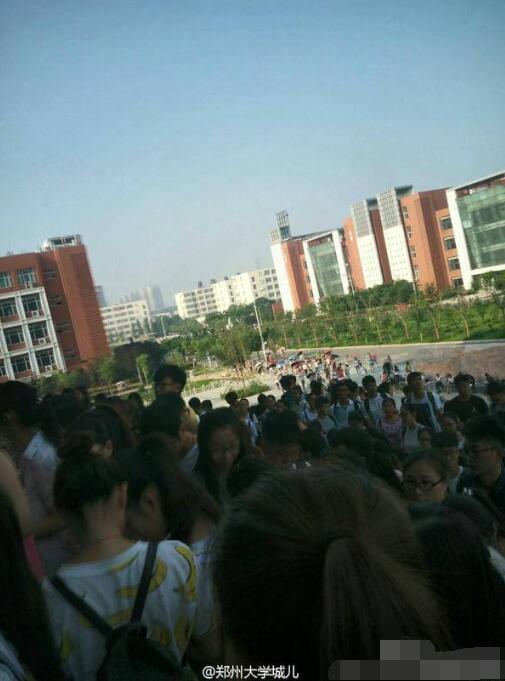 最近更是持续35度高温多日.据郑州航空工业管理学院同学消息,因