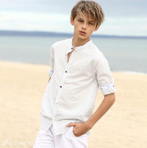 13岁澳洲男孩颜值高 被赞世界最帅