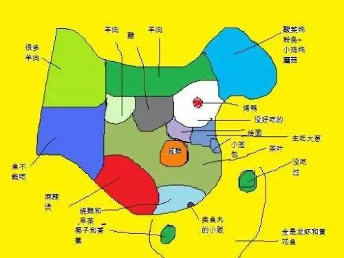 """""""升级版""""中国美食地图"""