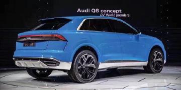 据悉,奥迪Q8预计将于2018年正式上市,作为奥迪未来的新旗舰车高清图片