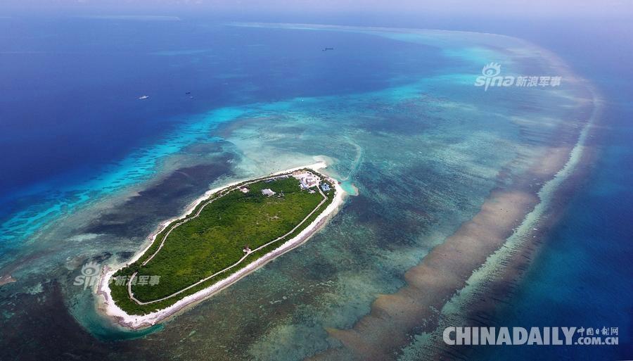 中国南海上的珍珠链 风景美丽绝伦的七连屿