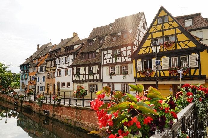 实拍法国浪漫小镇科尔马 像明信片一般的风景