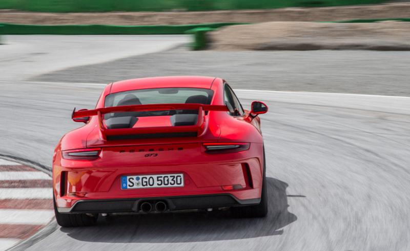 NO.5 2018款保时捷911 GT3:2018款保时捷911 GT3搭载4.0L发动机,