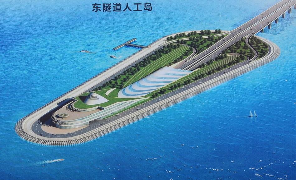 世界最长跨海大桥工程——港珠澳大桥开工仪式在广东省珠海市拱北