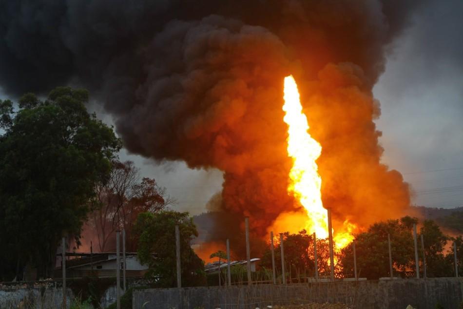 珠海石化厂爆炸
