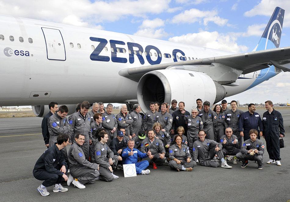 法国推出太空失重飞行体验 5分钟花费6千欧元【7p】