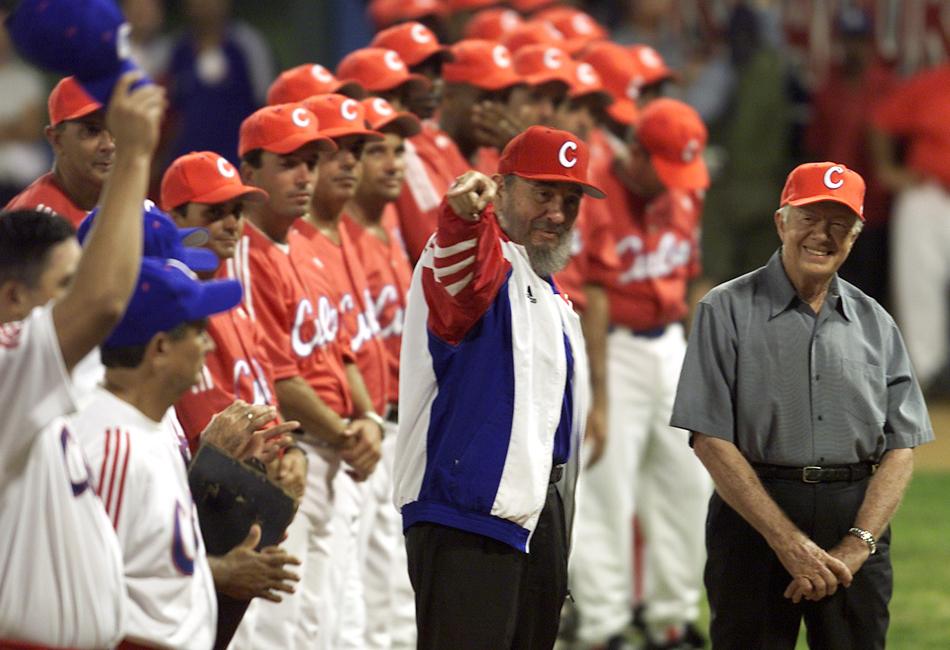 是自1959年古巴革命胜利以来,美国历任总统中访问古巴的第一人,