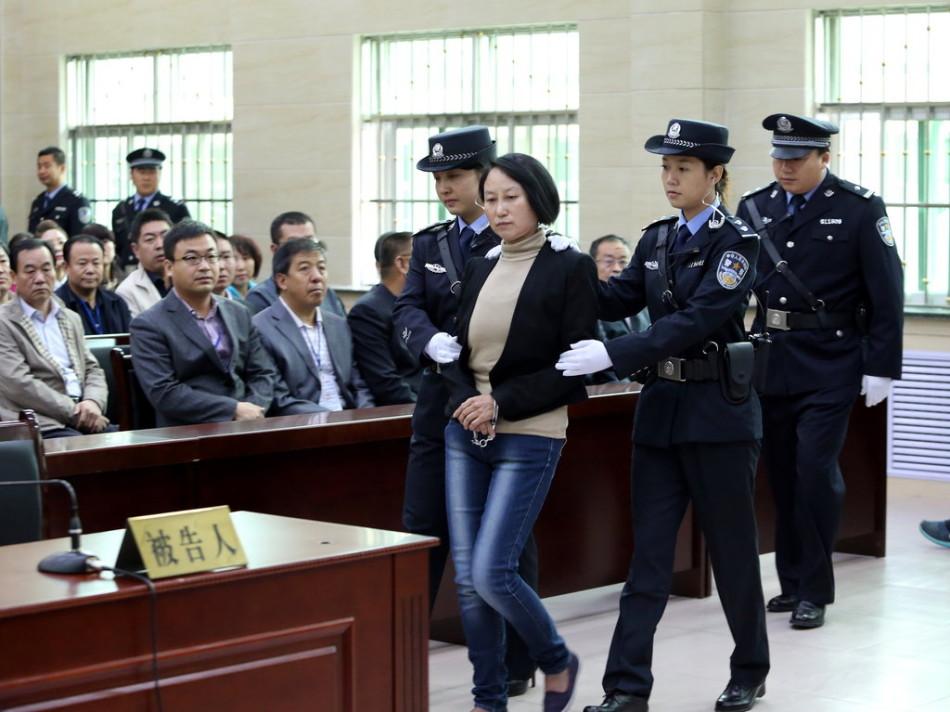 房姐龚爱爱案在陕西靖边开庭审理