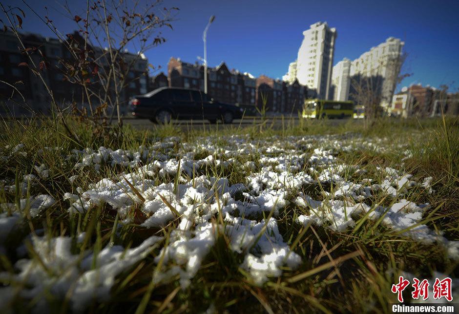 乌鲁木齐降初雪 为全国首个下雪大城市