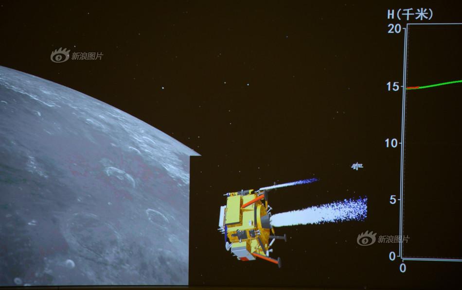 嫦娥三号登月全过程