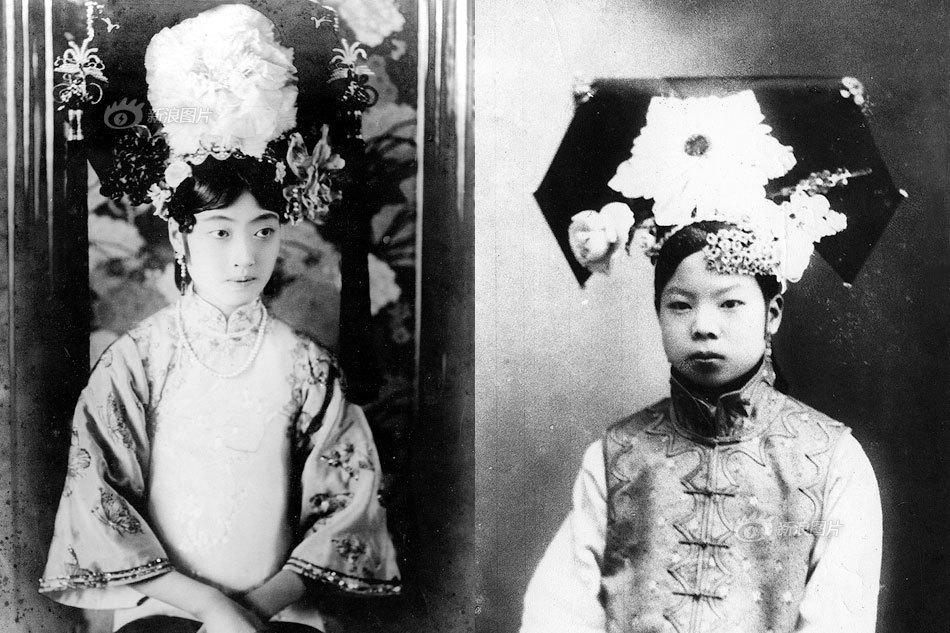 当溥仪过了15周岁的时候,太妃们开始与溥仪的父亲商量溥仪大婚之事