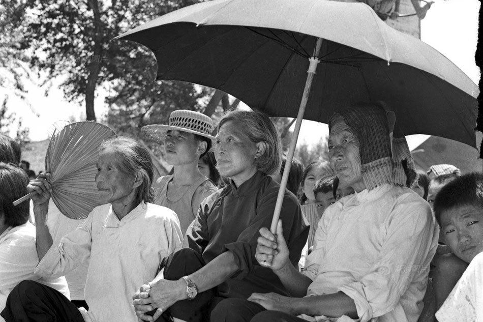 [珍贵照片]回忆当年河南农村改革,淳朴的人民