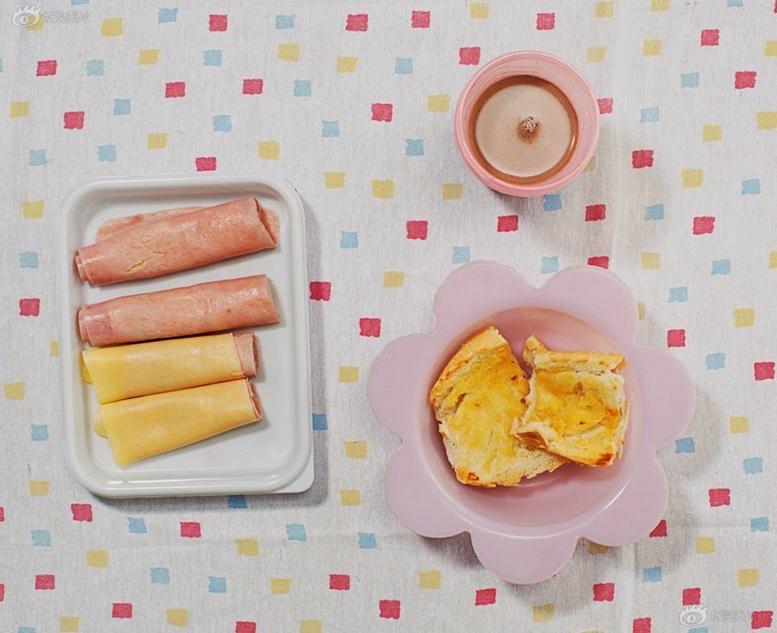 组图:美食摄影计划:拍摄世界各地小朋友的早餐图片