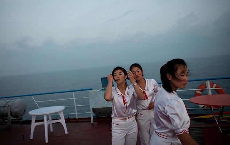 外媒镜头下的朝鲜职业女性