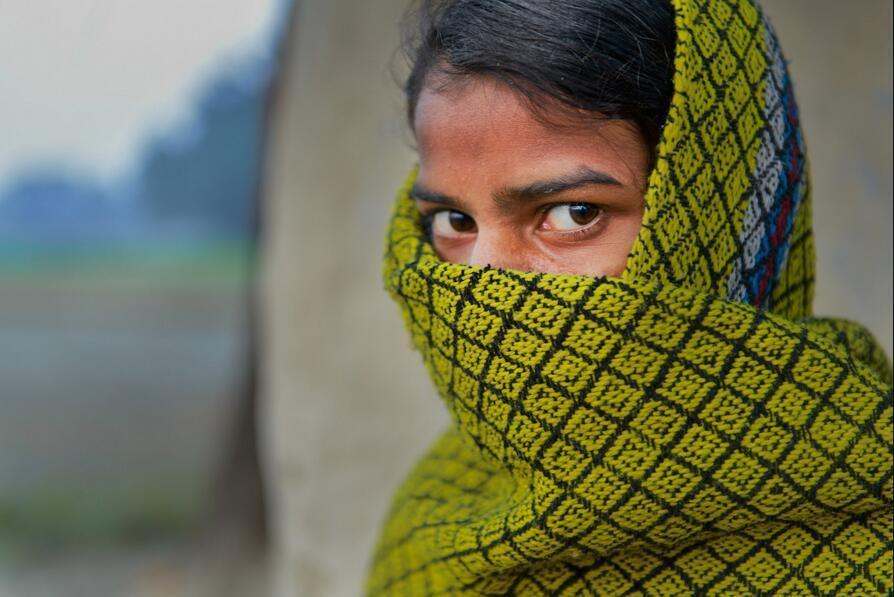 被性侵的印度少女
