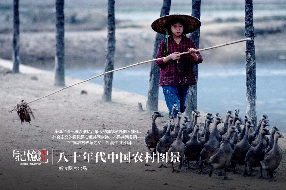 八十年代中国农村图景