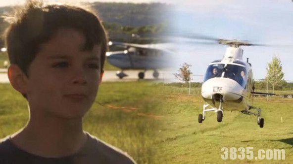 美国男子居然开直升机帮儿子拔牙
