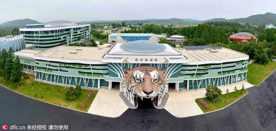 朝鲜中央动物园竣工:10万人首批参观