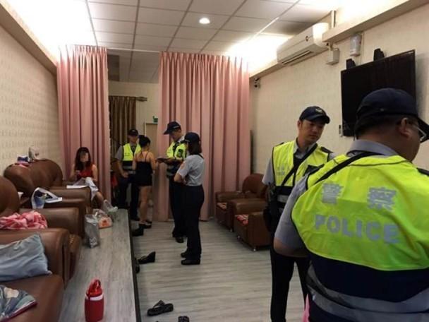 其余地方扫黄现场:7月10日,台湾高雄市三民区一家按摩养生馆因图片