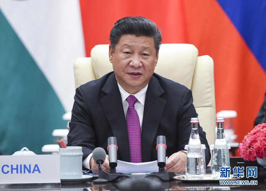 9月4日,金砖国家领导人非正式会晤在杭州举行,国家主席习近平、图片