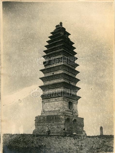 河南白马寺塔。