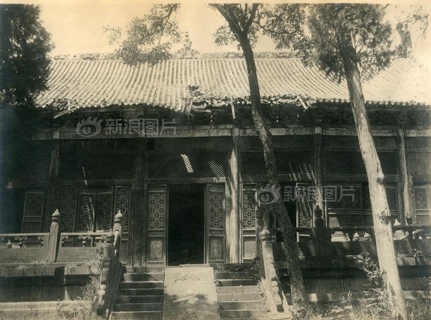 少林寺达摩殿。