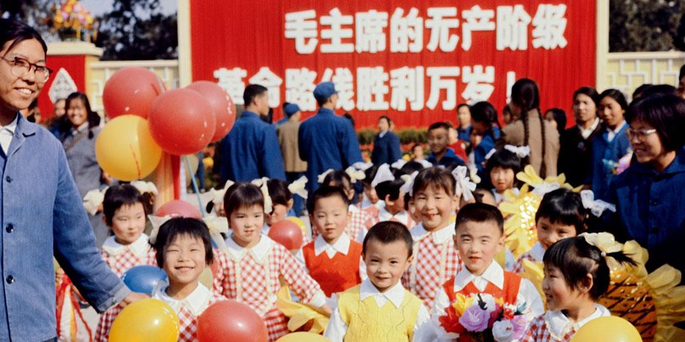 二十世纪六七十年代的彩色中国