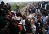 巴基斯坦火车追尾