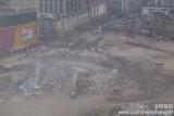 武汉爆破拆除77米高楼