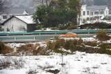 贵州多地迎来2015年首场降雪