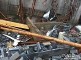 江苏突发飓风民房受损