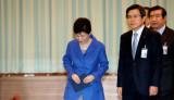 朴槿惠弹劾案后首次现身