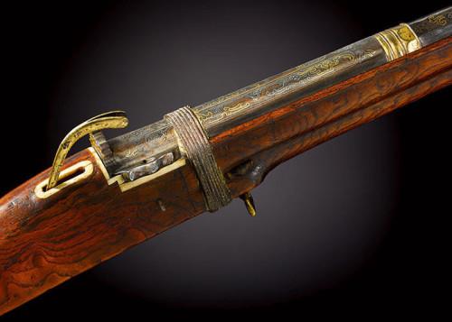 乾隆御用猎枪将于伦敦拍卖 估价约1243万人民币