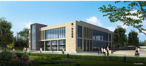 四川师范大学成都学院眉山校区,坐落在成都天府新区,眉山岷东新区